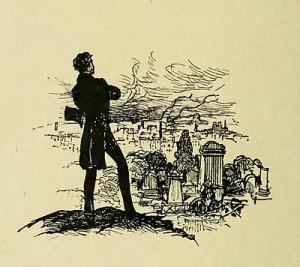 Charles Huard: Rastignac på højen